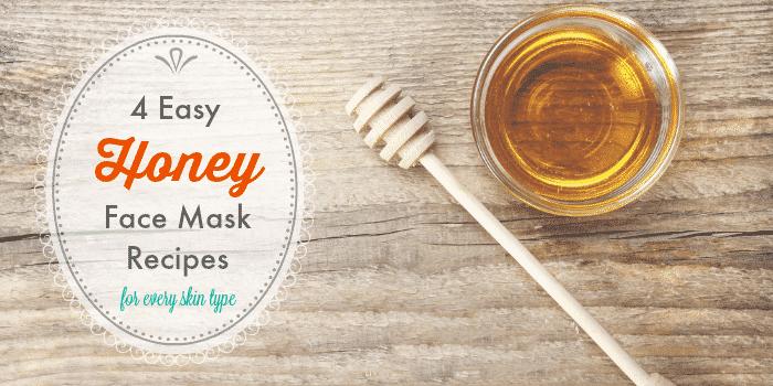 4 SUPER EASY HONEY FACE MASK RECIPES